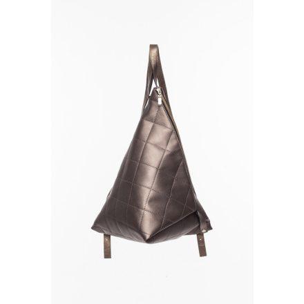 delta hátitáska steppelt bronz