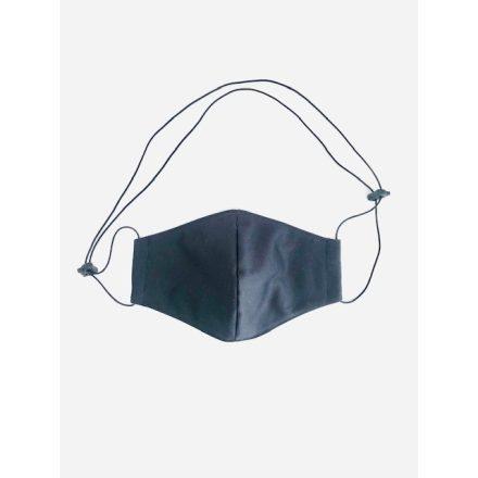 Nyakba akasztható maszk fekete