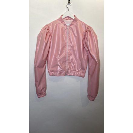 Rózsaszín rövid dzseki