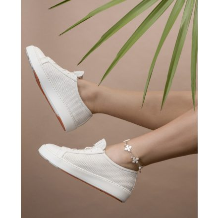 Shell trail anklet