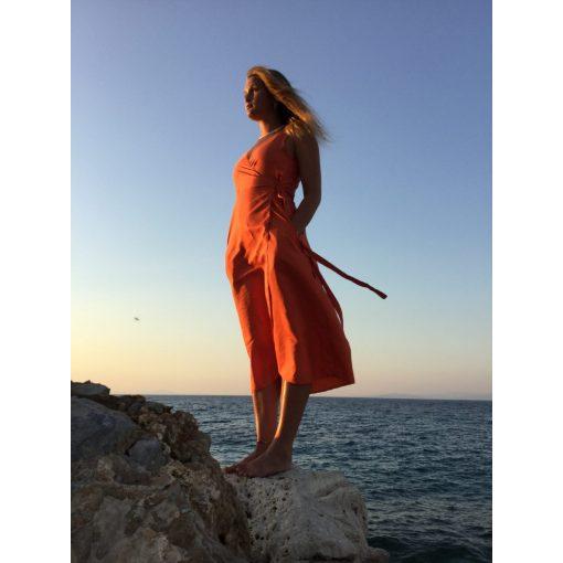Sunset hernyóselyem ruha