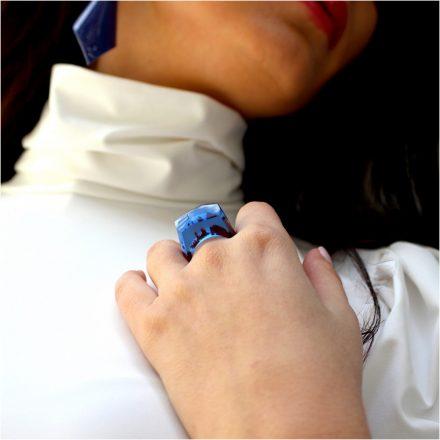 clear water light blue gyűrű