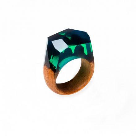 turquoise zöld gyűrű