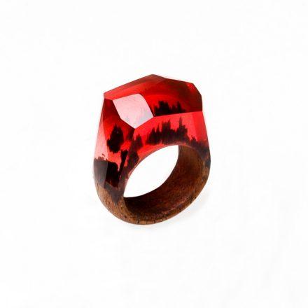 rubin gyűrű