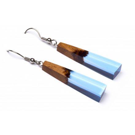 clear water light blue fülbevaló