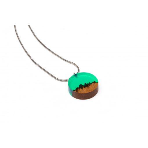 turquoise zöld kör nyaklánc