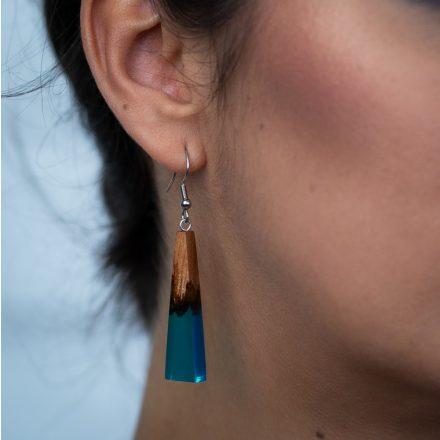 Turquoise fülbevaló