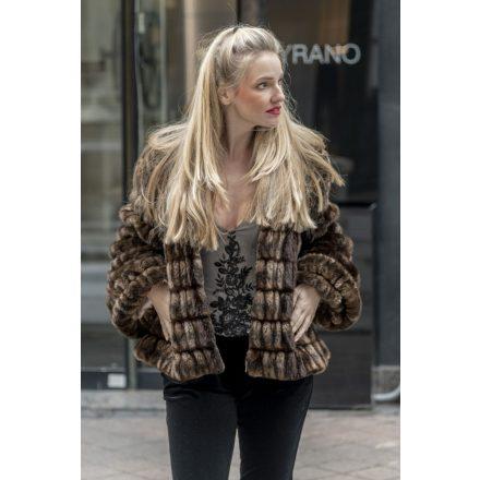 Kensington vegán szőrme kabát