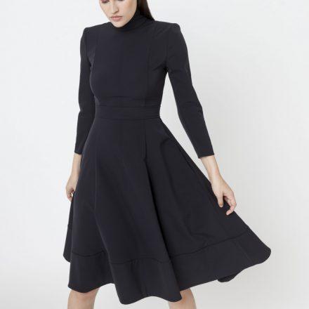 dramatic queen black dress