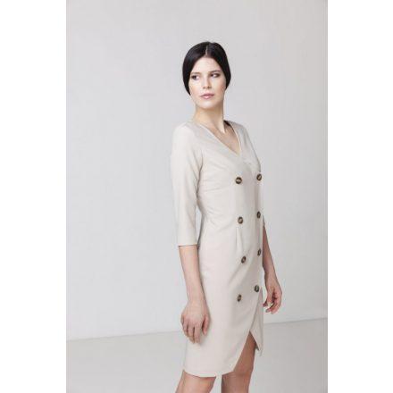 buttoned dress