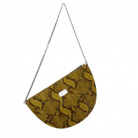 pine green leather bag