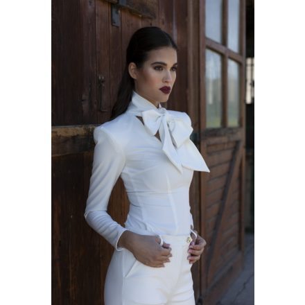 muse white blouse