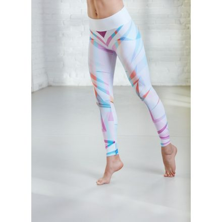 v-graphic leggings color