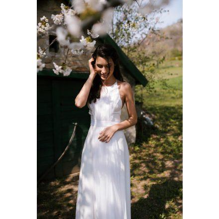 white on white wedding dress
