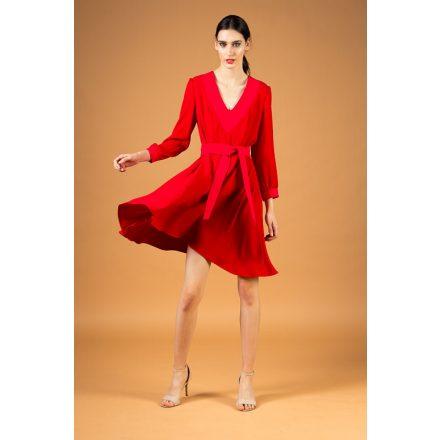 piros-pink ruha